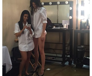 kendall jenner, kourtney kardashian, and Kendall image