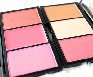 makeup, blush, and pink image