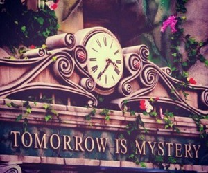 Tomorrowland, clock, and mystery image