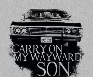 black and white, supernatural, and dean winchester image