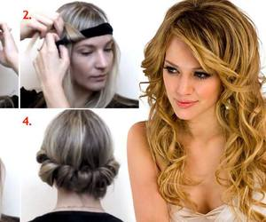 diy, hairstyles, and do it yourself image