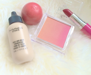 beauty, blush, and eos image