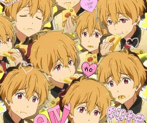 nagisa, kawaii, and pizza image