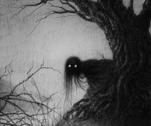 dark, Darkness, and creature image