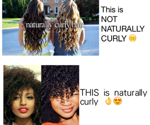 true, hair, and quotes image