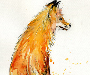 art, fox, and lovely image