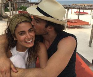 ian somerhalder, nikki reed, and tvd image
