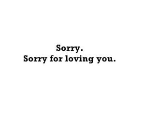loving, sorry, and text image