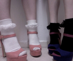 baby doll, footwear, and kinderwhore image