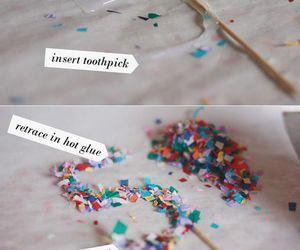diy, party, and topper image