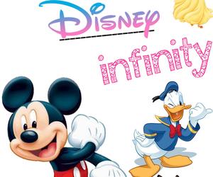 donald duck, infinity, and mickey mouse image