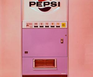 Pepsi, pink, and vintage image