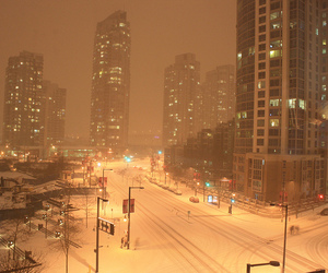 canada, vancouver, and snow image