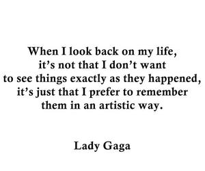 back, Lady gaga, and life image