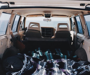travel, car, and adventure image