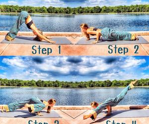 splits and yoga image