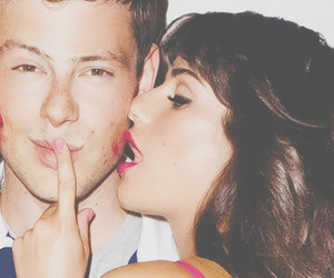 lea michele, cory monteith, and love image