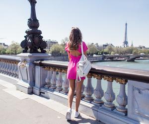 paris, city, and dress image