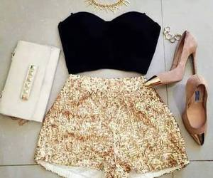 chic, fashion, and look image