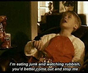 home alone, funny, and quotes image