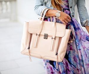 bag, fashion, and dress image