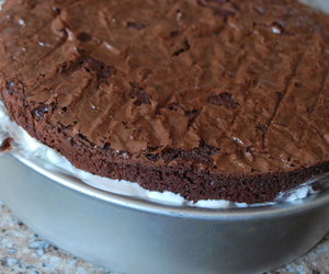 decadence and brownie cake image
