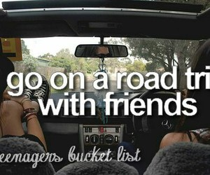 Dream, Road Trip, and bucket list image