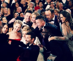 Angelina Jolie, ellen degeneres, and jared leto image