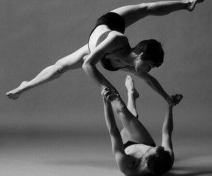 ballet, contemporary, and couple image