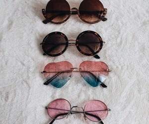 fashion, sunglasses, and vintage image
