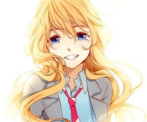 anime, smile, and shigatsu wa kimi no uso image
