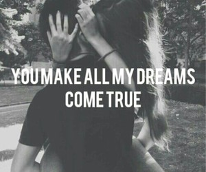 couple, Dream, and love image