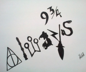 always, harry potter, and 9.3 4 image