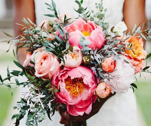 bouquet, flowers, and plant image