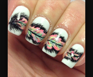 nails and feather image