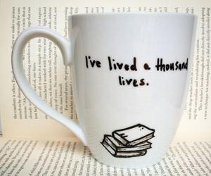 book, life, and mug image