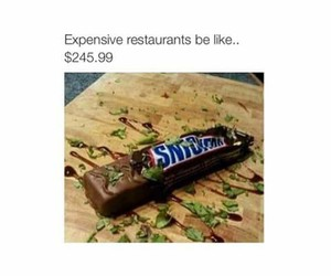 funny, restaurant, and expensive image