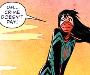 pastel, silk, and spiderman image