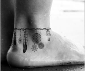 Dream, leg, and tatoos image