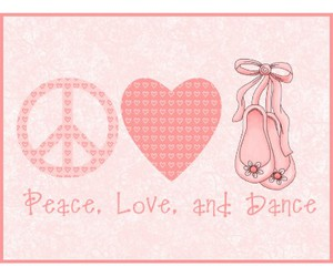 dance, peace, and love image