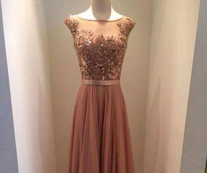 dress, evening dress, and prom dress image