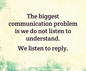 quote, listen, and problem image