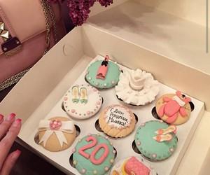 cupcake, food, and girl image