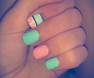 girly, glam, and nail art image