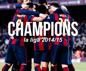 champion, Barcelona, and Barca image