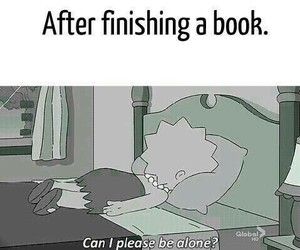 book, alone, and reading image