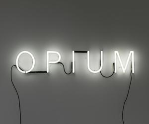 neon sign opium image