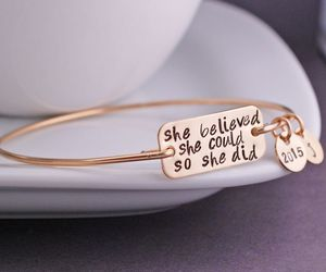 bracelet, text, and girly image