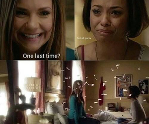tvd, elena, and the vampire diaries image