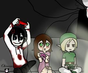 anime, ben, and Jeff image